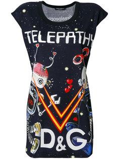 футболка с принтом Telepathy Dolce & Gabbana