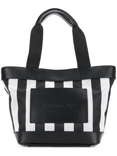 сумка-тоут с тисненым логотипом Alexander Wang