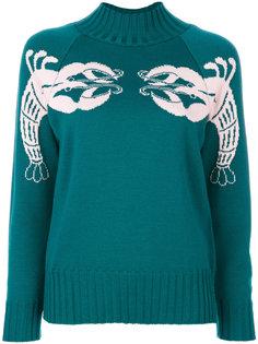 свитер с вышивкой Tunisi Vivetta