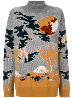 свитер с высоким воротником Kinoko Barrie