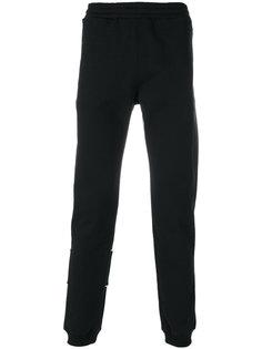 спортивные брюки с эластичными манжетами MSGM