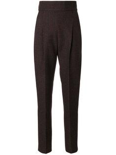 клетчатые брюки с высокой талией  Philosophy Di Lorenzo Serafini