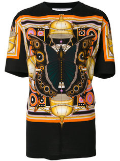 свободная футболка с принтом бабочек  Givenchy