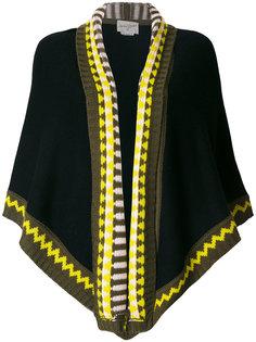 шарф с контрастной отделкой Antonia Zander