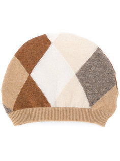 шапка с ромбовидным узором Pringle Of Scotland