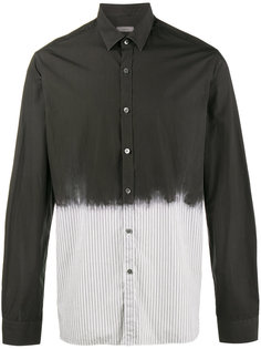 рубашка эффектом краски Lanvin
