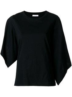 футболка с асимметричными струящимися рукавами JW Anderson