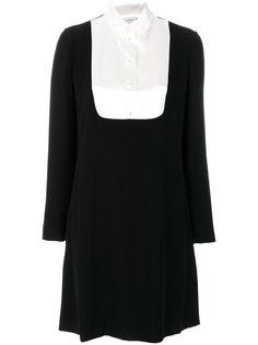 платье со вставкой спереди  Lanvin