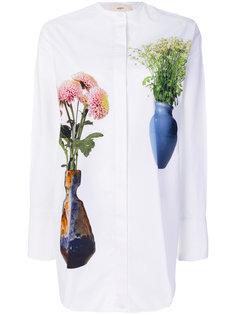 длинная рубашка с цветами  Ports 1961