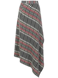 асимметричная юбка в клетку  Ports 1961