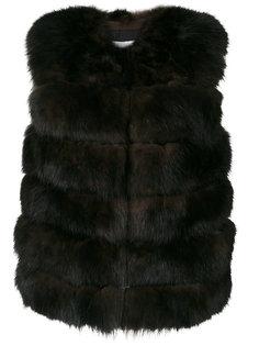 пальто без рукавов Yves Salomon