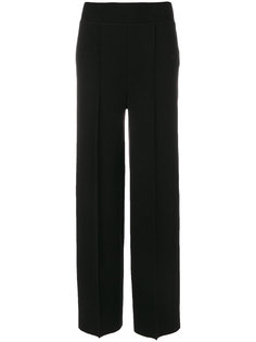 брюки-палаццо со складками Jil Sander