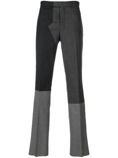 брюки с панельным дизайном Thom Browne