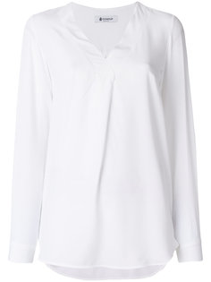 блузка с V-образным вырезом Dondup