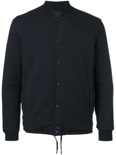куртка-бомбер на пуговицах Z Zegna
