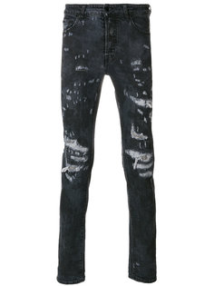 джинсы кроя слим Arke Marcelo Burlon County Of Milan