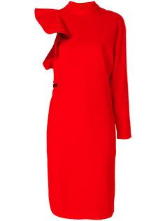 асимметричное платье  Givenchy