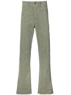 брюки средней посадки Rrl