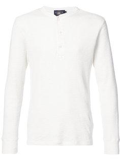 футболка хенли с длинными рукавами Rrl