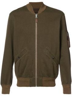 куртка бомбер на молнии Rrl