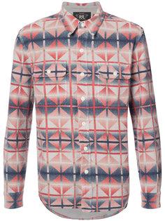 рубашка с геометрическим узором Rrl