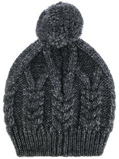 трикотажная шапка-бини Moncler