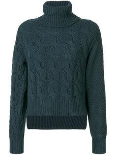 вязаный свитер с косами Mm6 Maison Margiela