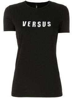 футболка с принтом с логотипом Versus