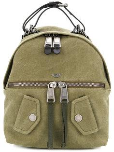 маленький байкерский рюкзак Moschino