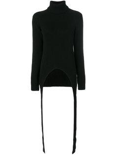 трикотажный джемпер с драпировкой Givenchy