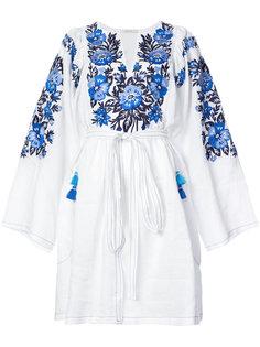 платье миди с вышивкой Vita Kin