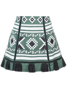 юбка в этническом стиле с кисточками Vita Kin