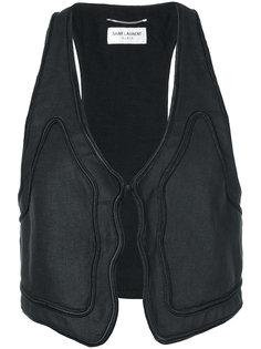 trim detail waistcoat Saint Laurent
