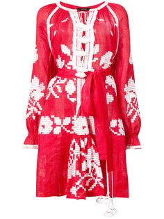 миди платье с этнически рисунком Vita Kin