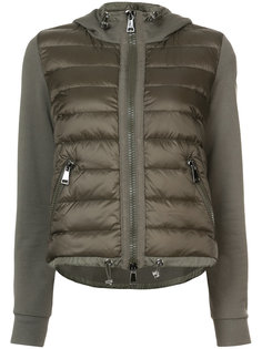 padded front hooded jacket Moncler