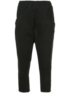 drop-crotch cropped sweatpants Baja East