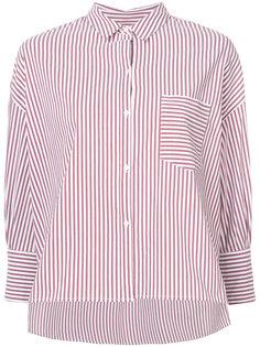 boxy asymmetric striped shirt Nili Lotan