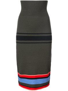 облегающая юбка в полоску Tome