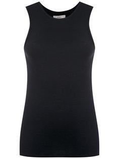 ribbed sleeveless blouse Egrey