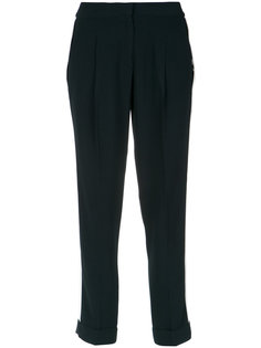 contrasting side stripes trousers Egrey