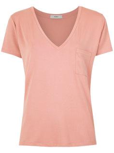chest pocket T-shirt Egrey