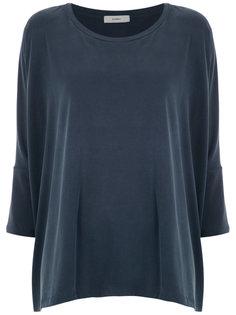 Andreia wide blouse Egrey