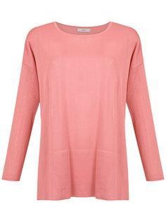 knitted Firenze blouse Egrey