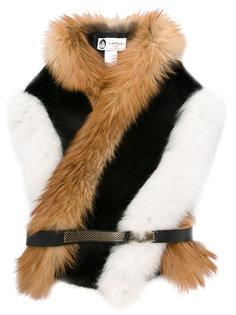 шарф из лисьего меха Lanvin