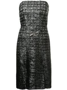 платье без бретелек Lanvin