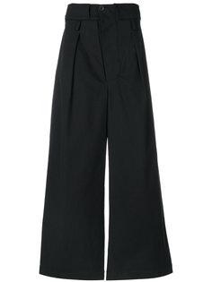 расклешенные брюки с заниженной проймой Lost & Found Ria Dunn