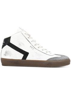 хайтопы на шнуровке Leather Crown