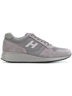 кроссовки со шнуровкой Hogan