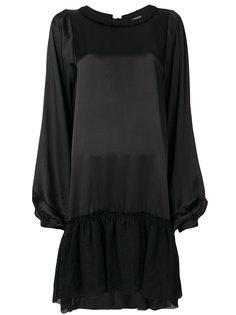 платье с заниженной талией  Ann Demeulemeester