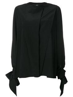 рубашка с завязками на рукавах  Givenchy